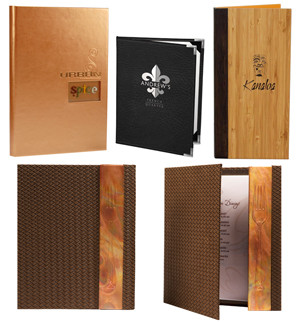 Menu Covers Folders Design South Africa Pretoria Johannesburg Cape Town Durban
