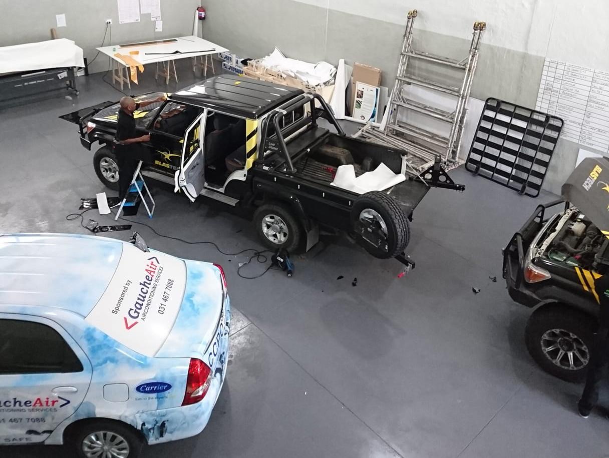 Vehicle branding wraps car wrap vinyl decals durban umhlanga ballito kzn south africa